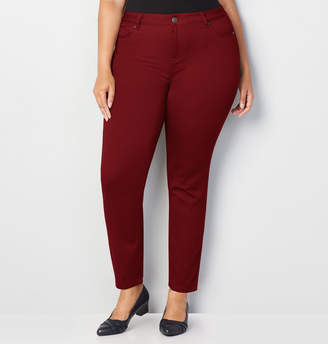 Avenue Butter Denim Skinny Jean in Red