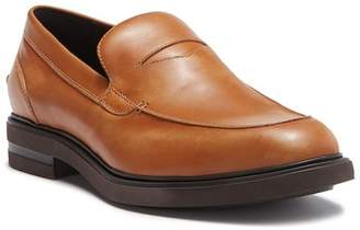 Donald J Pliner Edwyn Leather Deconstructed Penny Loafer