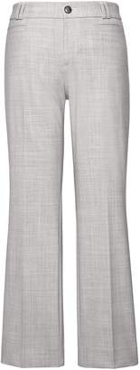 Banana Republic Logan Trouser-Fit Cropped Heathered Pant