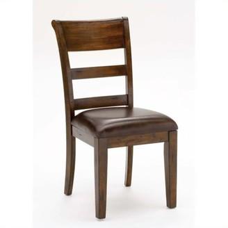 Hillsdale Furniture Park Avenue Dining Chair in Dark Cherry (Set of 2)