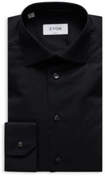 Eton Stretch Slim-Fit Cotton Dress Shirt