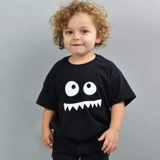 Ellie Ellie Monster Face Children's T Shirt