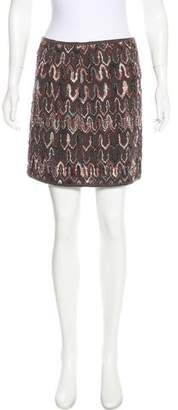 Missoni Wool Knit Mini Skirt