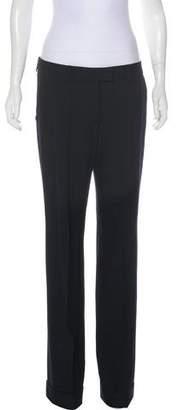 Christian Dior Mid-Rise Wool Pants