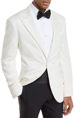 Brunello Cucinelli Silk Formal Dinner Jacket