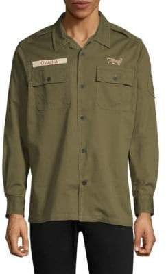 Ovadia & Sons Cotton Ovadia Military Shirt