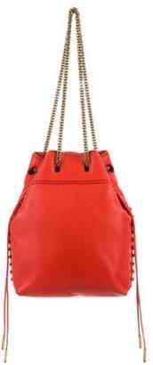 Jerome Dreyfuss Grained Leather Bucket Bag