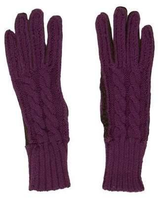 Henry Beguelin Wool & Leather Gloves
