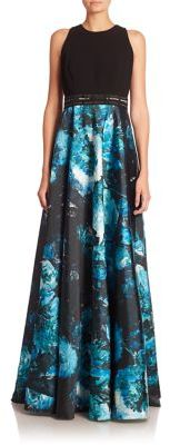 Carmen Marc Valvo Embellished A-Line Gown $1,295 thestylecure.com