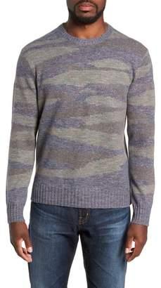 Michael Bastian Camo Intarsia Regular Fit Sweater