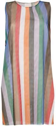Reality Studio striped mesh vest