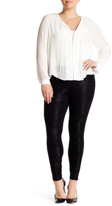 philosophy Lace Front Legging (Plus Size) $78 thestylecure.com