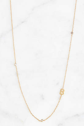 Tai Gold Alphabet Necklace B
