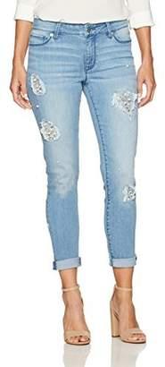 Denim Crush Women's Pearl Repair Skinny Jean