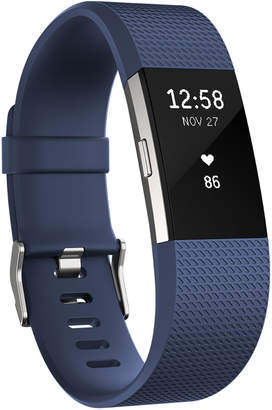 Fitbit Large Blue Charge 2 Heart Rate Wristband