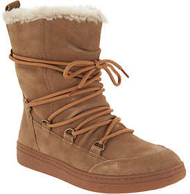 Earth Water Resistant Suede Winter Boots -Zodiac