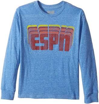 Original Retro Brand The Kids ESPN Long Sleeve Tri-Blend Tee Boy's T Shirt