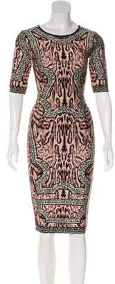 Herve Leger Zola Midi Dress w/ Tags