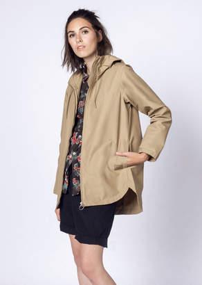 Herschel Stranded Zip Jacket | Wildfang - Stranded Zip Jacket - BROWN - XSMALL