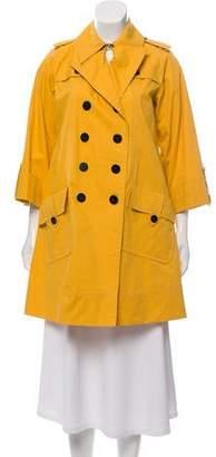 Diane von Furstenberg Double-Breasted Trench Coat