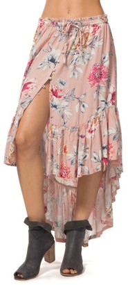 Women's Rip Curl Wildflower High/low Maxi Skirt $59.50 thestylecure.com