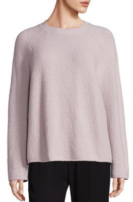 Vince Knit Crewneck Sweater $365 thestylecure.com