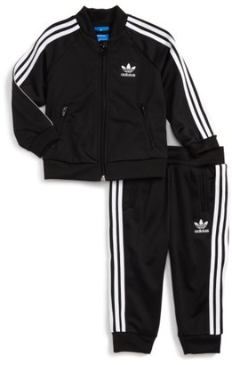 Infant Boy's Adidas Originals Logo Track Jacket & Pants Set $45 thestylecure.com