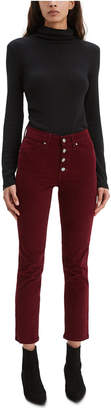 Levi's 724 High-Rise Button-Fly Corduroy Jeans