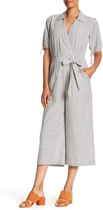 Bobeau B Collection by Shane Seersucker Jumpsuit