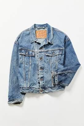 Urban Renewal Vintage Levi's American Flag Denim Jacket