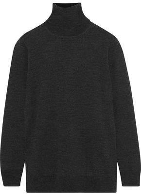 Iris & Ink Mary Beth Wool Turtleneck Sweater