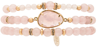 Ettika Beaded Bracelet Set $61 thestylecure.com