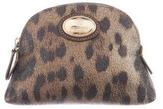 Roberto CavalliRoberto Cavalli Leopard Cosmetic Bag
