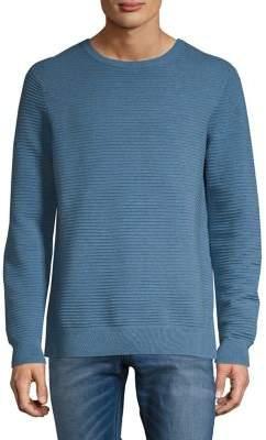Black & Brown Black Brown Crewneck Pullover Sweater