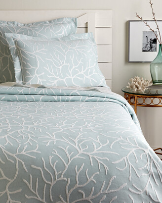 Belle Epoque Coral Glory Coverlet Collection