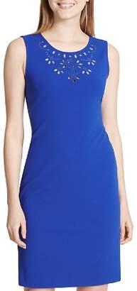 Calvin Klein Eyelet-Detail Dress