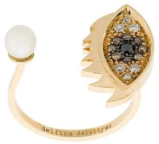 Delfina Delettrez Eyes on Me Piercing リング
