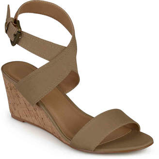 Journee Collection Kaylee Wedge Sandal - Women's