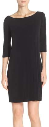 Leota Dolman Sleeve Jersey Sheath Dress