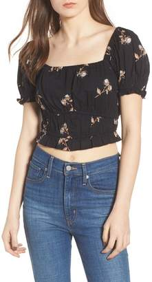 BP Puff Sleeve Crop Top