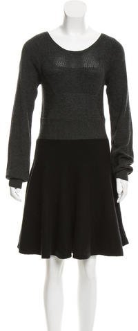 Marc by Marc Jacobs Wool-Blend Sweater Dress