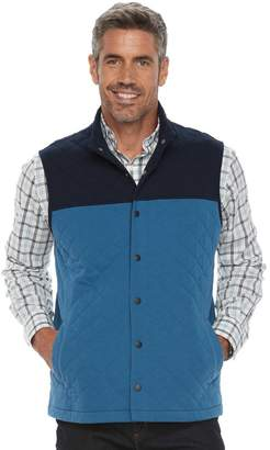 Croft & Barrow Men's Outdoor Quilted Vest