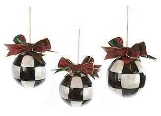 Mackenzie Childs MacKenzie-Childs Christmas Ball Ornaments