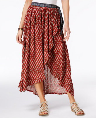 American Rag Printed Tulip-Front Maxi Skirt, Only at Macy's $49.50 thestylecure.com