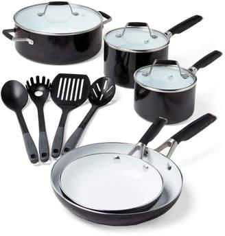 Calphalon Select By 12-Piece Ceramic Nonstick Cookware & Utensil Set