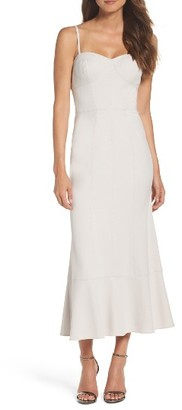 Women's Vera Wang Seamed Midi Dress $278 thestylecure.com