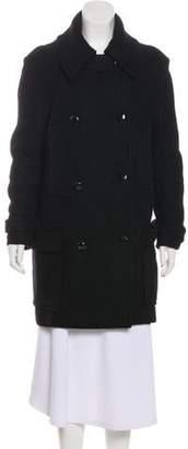 Etoile Isabel Marant Wool-Blend Belted Coat