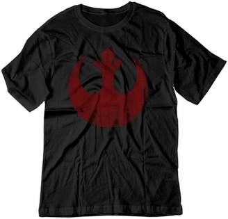 Star Wars BSW Men's Rebel Alliance Starbird Insignia Phoenix Shirt XL