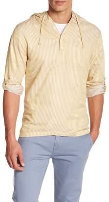 Onia Kai Stripe Hooded Pullover