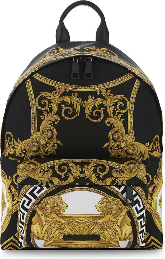 VersaceVersace Baroque backpack